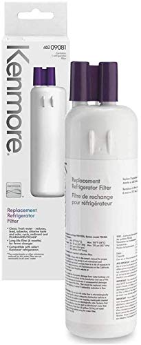 Replacement Water Filter Compatible With Kenmore Refrigerator Water Filter 9081 (1-Pack), White