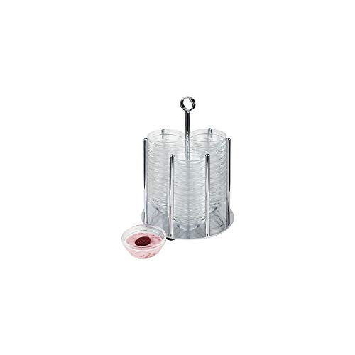 APS 11990 MEDIUM Schüssel-Halter geeignet für Ø 7,5 cm-Schüsseln, Ø 17,5 x 25,5 cm