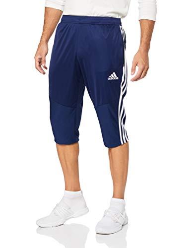adidas Herren TIRO19 3/4 PNT Sport Trousers, Dark Blue/White, L