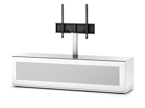 Sonorous STD 261I-WHT-WHT-BW Studio TV-Lowboard für 177,8 cm (70 Zoll) Fernseher weiß