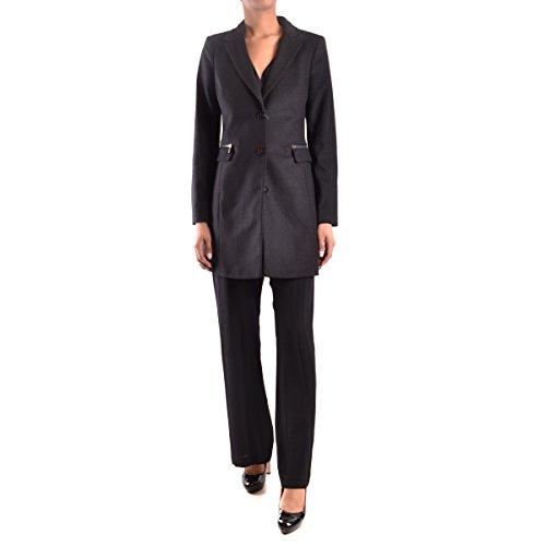 Armani Jeans Damen 6X5K015N06Z Mantel, Schwarz (Nero 1200), 34 (Herstellergröße: 40)