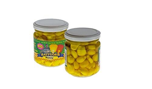 Timar Big Baitcorn Goliath Mais im Glas Honey Gelb Megamais Goliathmais Riesenmais Corn