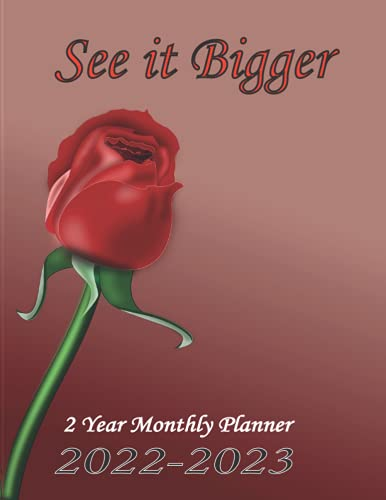 2 Year Monthly Planner 2022-2023 See...