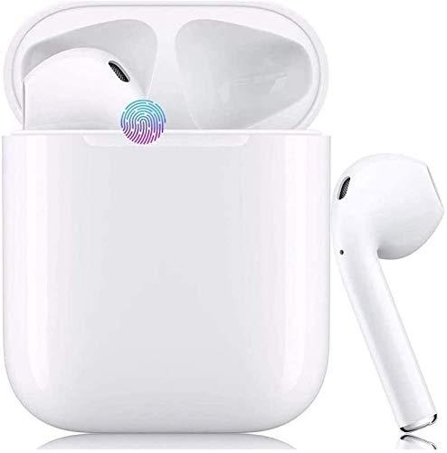 Bluetooth-Kopfhörer5.0,kabellose Touch-Kopfhörer HiFi-Kopfhörer In-Ear-Kopfhörer Rauschunterdrückungskopfhörer,Tragbare Sport-Bluetooth-Funkkopfhörer,Für Airpods Android/iPhone/Samsung/AirPods Pro