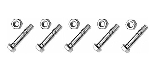 New The ROP Shop (5) Shear PINS & Bolts for Craftsman 88289 Stens 780-043 Rotary 8627 Snowblowers