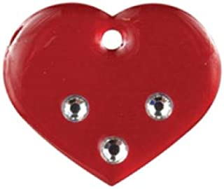 Imarc Heart Red Fashion Pet Tag