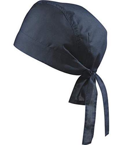 noTrash2003 Design Bandana Cap Mütze Kopftuch verschiedene Farben für Sport und Freizeit (Navy)