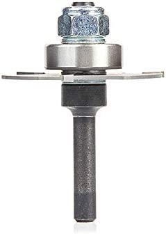 Amana Tool 55500 Adjustable E-Z Dial Slot Cutter Carbide Tipped Router Bit 12-Inch Shank