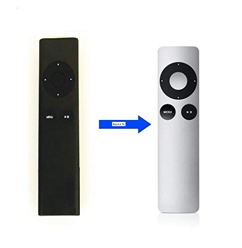 LuckyStar MC377LL/A Universal Replacement Remote Control fit for Apple 2/3 TV Box, Compatible with Mac/Music System/iPhone/iPad/iPod