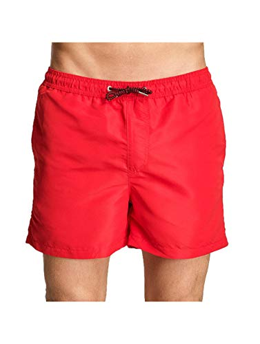 Jack & Jones Jjisunset Swim Shorts Ww STS, Rouge (Racing Red Racing Red), Large Homme
