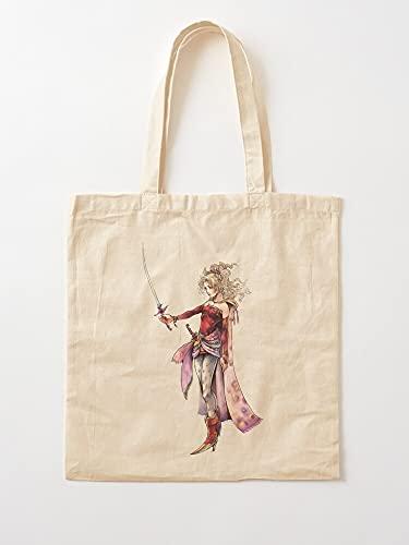 Générique 6 Terra Fantasy VI Final | Einkaufstaschen aus Segeltuch mit Griffen, Einkaufstaschen aus nachhaltiger Baumwolle