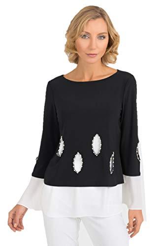 Joseph Ribkoff Black & White Tunic Style - 193274 Fall 2019 (18)
