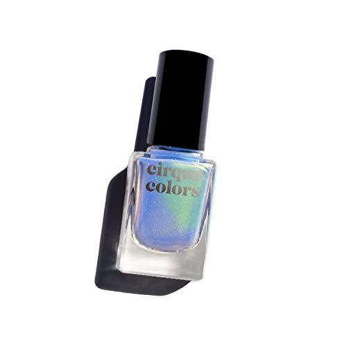 Cirque Colors Shimmer Holographic Sparkle Nail Polish - 0.37 fl. oz. (11 ml) - Vegan, Cruelty-Free, Non-Toxic Formula (Cultured)