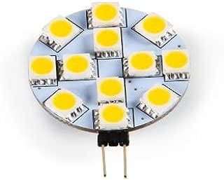 Camco 54626 G4 Bright White Light LED Bulb with G4 Bi-Pin Base