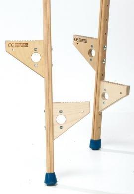 Stelzenbacke für Pedalo-Stelzen Ausführung Stelzenbacke, einzeln (mit Schraube)