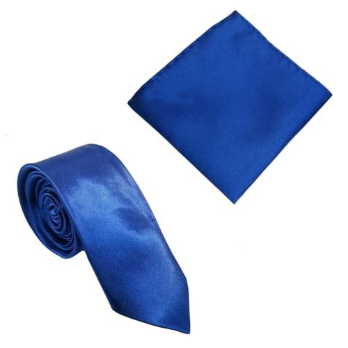 Corbata Skinny Azul Oscuro | Inteligente - Casual | Corbata de Cuello