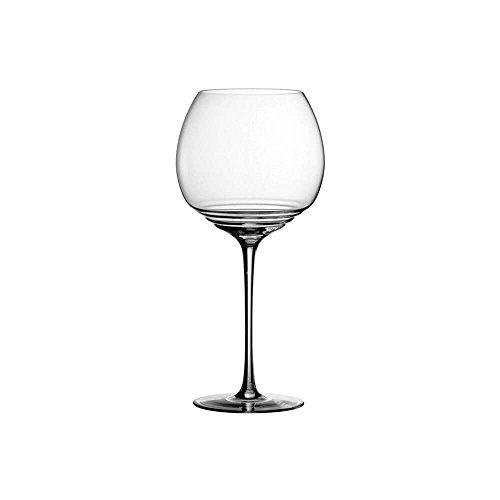 Zafferano Set 6 Esparaienze Copa de Vidrio para vinos tintos Importantes