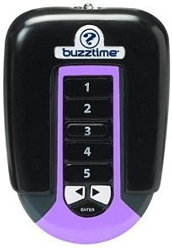 Buzztime Home Trivia System Wireless Controller in lila by Cadaco