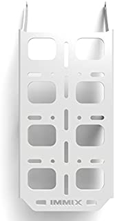 Cargo Rack Luggage Carrier Utility Rear Tail Holder White Powdercoat fits: 96-04 Honda XR400R XR250R - Immix Racing - 100-012-White