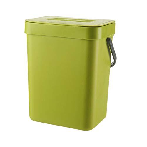 Lhuaguo Bio Komposteimer 9 L Für Die Küche, R Für Die Küche Für Küche Büro Badezimmer Auto