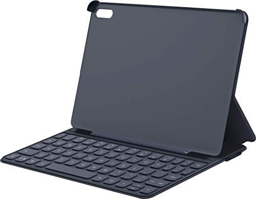 HUAWEI Smart Keyboard (deutsche QWERTZ Tastatur) mit Schutzhülle, ultradünn, Plug & Play, Dark Gray (mit HUAWEI MatePad kompatibel)