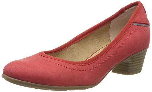 s.Oliver Damen 5-5-22301-34 Pumps, Rot (Red 500), 40