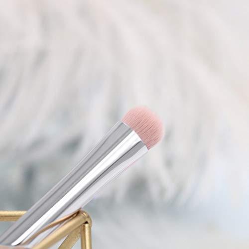Pinceau de maquillage Pinceau de maquillage professionnel Set Tool Foundation Foundation Ombre à paupières Lip Liner Blush Marble Face Brosse de maquillage 10pcs blanc