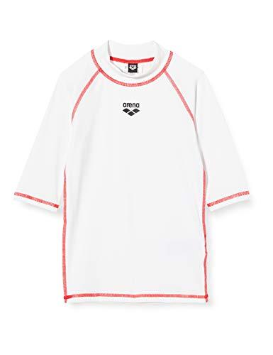 ARENA Mädchen Sonnenschutz Shirt Rash Uv, White, 128
