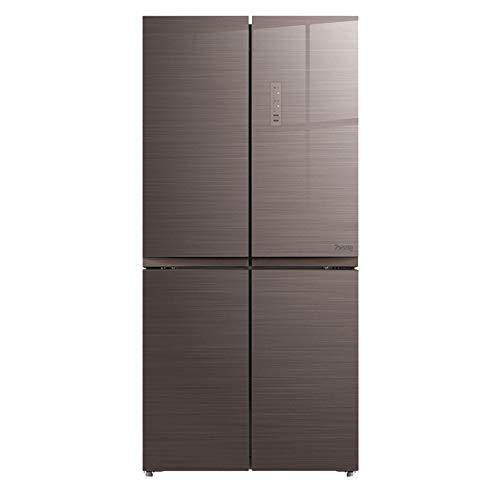 STAR BEBE divisa 50/50 quattro porte frigorifero senza ghiaccio 442 marrone L- [Categoria energetica A ++]