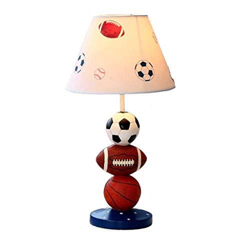HYY-YY Lámparas de mesa, Personalidad simples aficionados de dibujos animados lámpara decorativa, Dimmer la lámpara de cabecera for la enseñanza de la lámpara, la lámpara creativa, regulable Continent