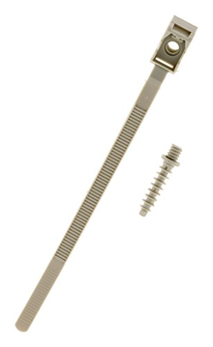 Lot de 100 Colliers à embase D:16-32mm + chevilles - Zenitech