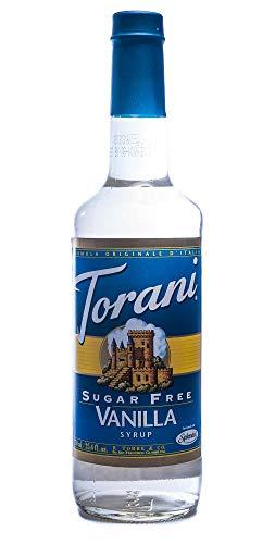 Torani Sirup Vanille zuckerfrei 750 ml