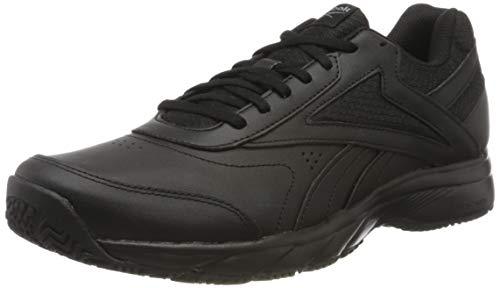Reebok Work N Cushion 4.0, Sneaker Hombre, Black/Cold Grey/Black, 42.5 EU