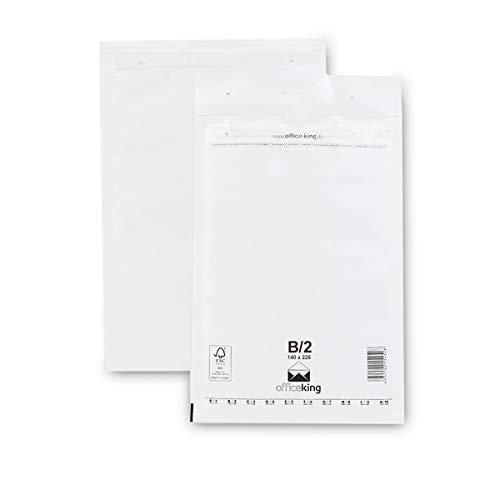 200 x 275 mm 4//D 50 rote Luftpolstertaschen Luftpolsterumschlag Versandtaschen Gr/ö/ße ROT dimapax