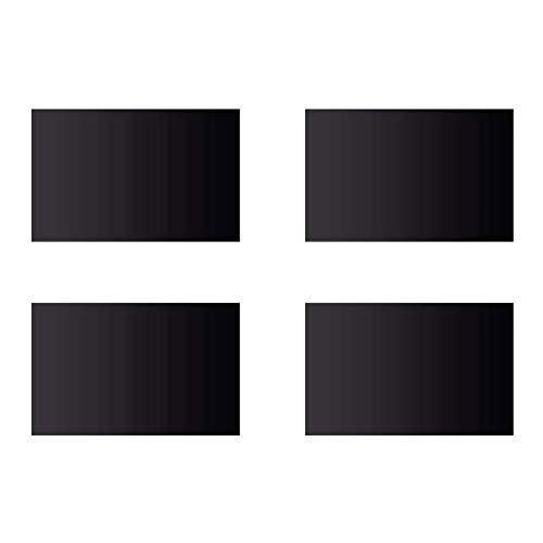 DURA-LIFT Decorative Magnetic Faux Garage Door Windows for 2-Car Garage (32-Pack)