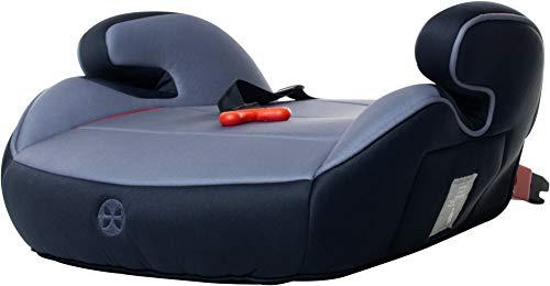 Kindersitzerhöhung 15-36kg Babyblume BOOST Isofix und Gurtfix Navy, Gruppe 2/3, (3-12 Jahre), ECE R44/04 Sitzerhöhung Auto Kinder