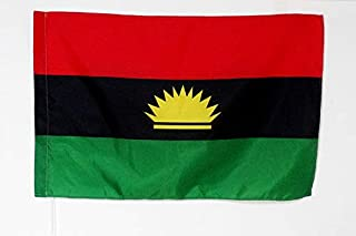 AZ FLAG Bandera de la REPÚBLICA DE BIAFRA 150x90cm para Palo - Bandera DE BIAFRA EN Nigeria 90 x 150 cm