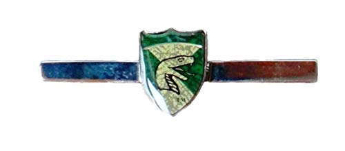 Harry Potter Enameled Tie Bar by Arthur Price of England (Slytherin)