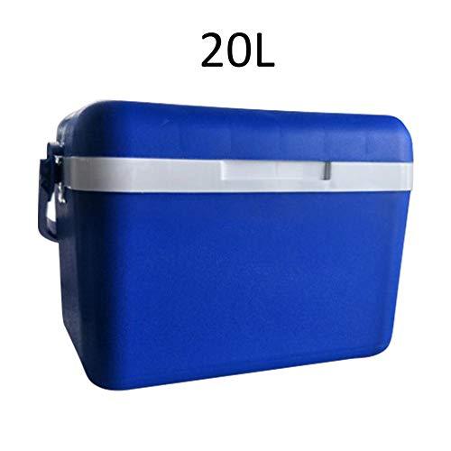 In de buitenkoelbox inubator voor het grillpicknickvissen 20L blauw