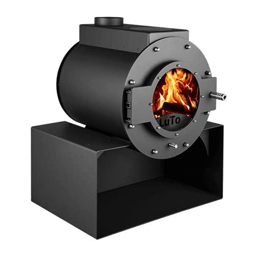 Kaminofen Kanuk® LuTo VIII - Warmluftofen - Werkstattofen - Energieklasse A+ - Top Qualität - Zulassung für Deutschland, Österreich und Schweiz - BimSchV