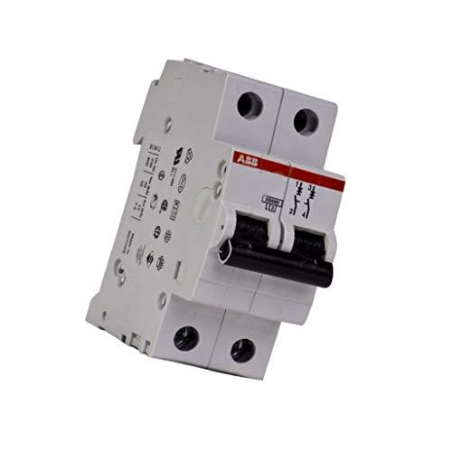 S202-C4 Overcurrent breaker 400VAC Inom4A Poles no2 Mounting DIN 2CDS252001R0044