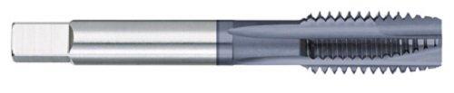 Titan TT98424 Predator High Vanadium Powdered Metal Spiral Point Plug Tap, ALTIN Coated, M8 x 1.25