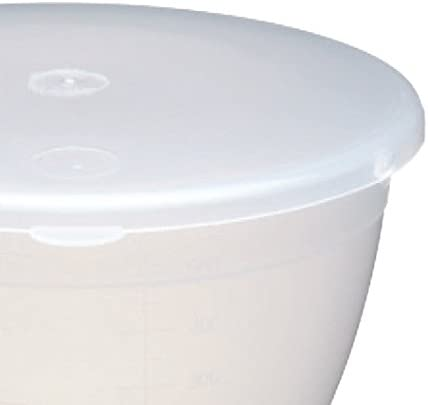 2 Pint 1.1 Litre KitchenCraft KCPUD2 Plastic Pudding Basin with Lid Medium-Large