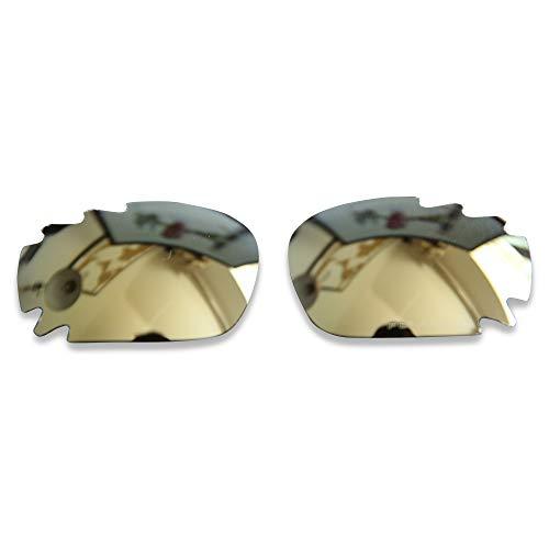 PolarLens Polarisierte Ersatzgläser für Oakley Jawbone / Racing Jacket – kompatibel mit Oakley Jawbone / Racing Jacket Sonnenbrille Gr. Einheitsgröße, Bronze Gold