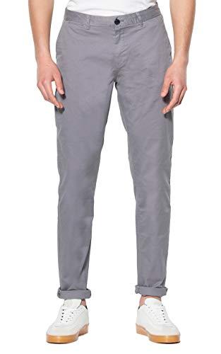 Scotch & Soda Herren Stuart-Classic Regular Slim fit Chino Hose, Grau (Grey 97), W(Herstellergröße: 36/32)