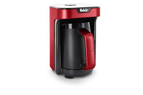 Fakir Kaave Mono 9257001 / Mokkamaschine Kaffeekocher Kaffeebereiter elektrisch, Kunststoff, One Touch Steuerung, 280 ml Kochbehältervolumen, rot - 535 Watt