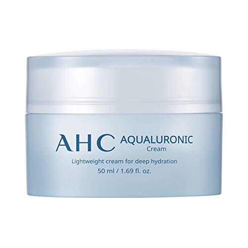 Aesthetic Hydration Cosmetics Face Cream Aqualuronic Hydrating Triple Hyaluronic Acid Korean Skincare For Deep Hydration 1.69 oz