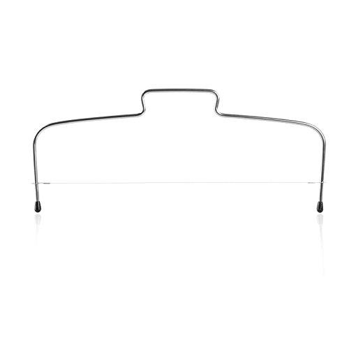 Wenco Tortenbodenteiler mit Gezahntem Schneidedraht, Stahl/Edelstahl