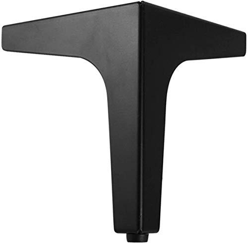 THj Sofabeine Metallmöbel Tischbeine Schrankfüße Metallmöbelfüße Für Couchtisch, Esstisch, Designer-Schreibtisch, Nachttisch, Stühle, Schrank und Sofa (Farbe: Silber, Größe: 13 cm)