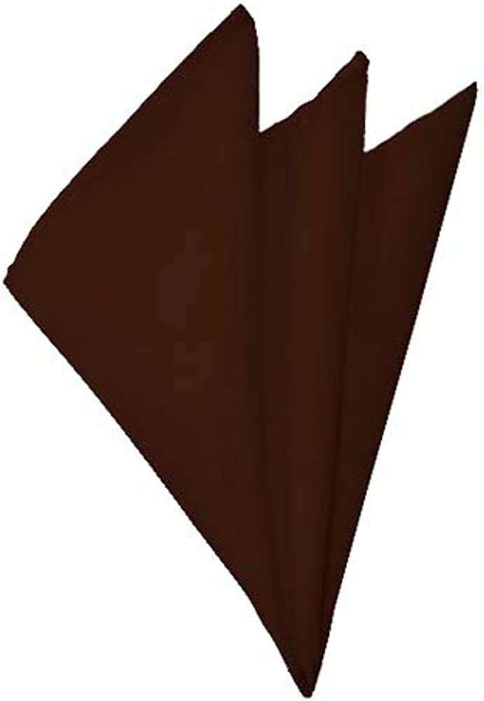 Solid Brown Handkerchief Industry No. 1 Our shop OFFers the best service